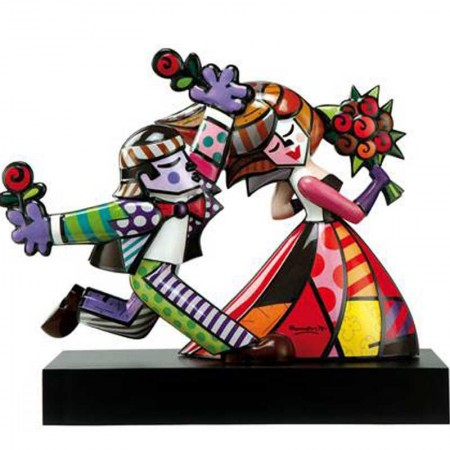 Figurka Follow Me 47cm Romero Britto Goebel