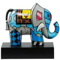 Figurka Great India 2 21.5cm Romero Britto Goebel