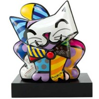 Figurka Blue Cat 27x30.5cm James Rizzi Goebel