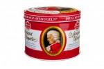 Czekoladki Mozart Kugeln puszka okrągła metalowa 300g Reber