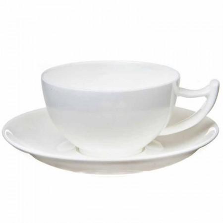 Filiżanka Epsilon biała 300ml Tea Logic