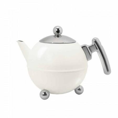 Dzbanek do herbaty Bella 1,2l biały Bredemeijer