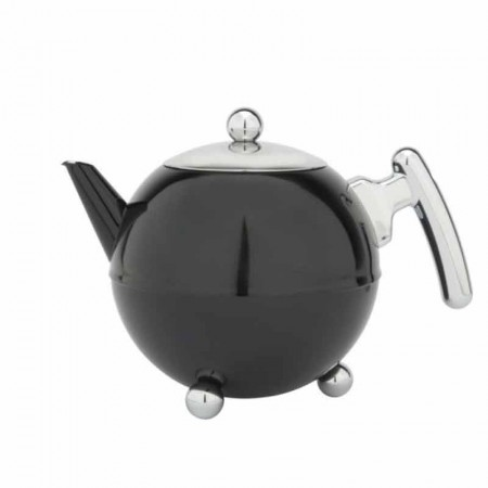 Dzbanek do herbaty Bella 1,2l czarny Bredemeijer