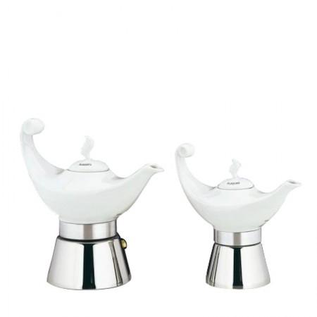 Kawiarka Aladino 4filiżanki porcelanowa Cilio