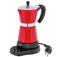 Kawiarka elektryczna czerwona 250ml Classico 6 filiżanek Cilio