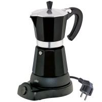 Kawiarka elektryczna czarna Classico 6 filiżanek Cilio