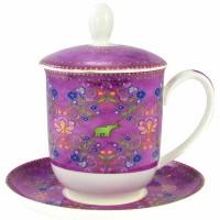 Kubek Sari z zaparzaczem 350ml Tea Logic