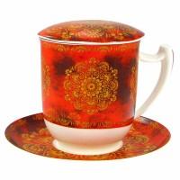 Kubek Tiziana z zaparzaczem 350ml Tea logic
