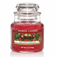Świeca mała Yankee Candle Red Apple Wreath