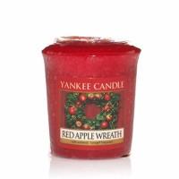 Sampler Red Apple Wreath