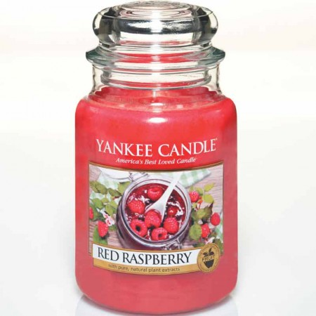Świeca duża Red Raspberry Yankee Candle