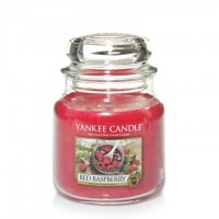 Świeca średnia Red Raspberry Yankee Candle