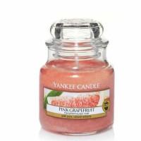Świeca mała Yankee Candle Pink Grapefruit