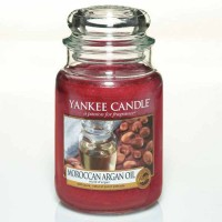 Świeca duża Yankee Candle Moroccan Oil