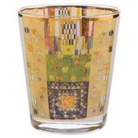 Świecznik szklany Stoclet Frieze 10 cm Gustaw Klimt  Goebel