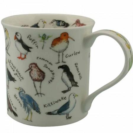 Kubek Bute Birdlife Coastal Birds  250ml Dunoon