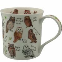 Kubek Bute Birdlife Owls 250ml Dunoon