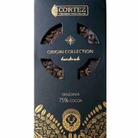 Czekolada ciemna Single Origin Tanzania 75% Cortez