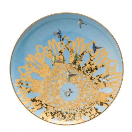 Talerz śniadaniowy Spirograph 22cm Joanna Charlotte Goebel
