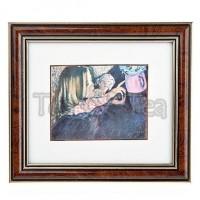 Obraz Helenka z wazonem 15x17cm Wyspiański