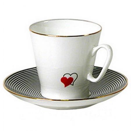 Filiżanka espresso Serce 80ml Łomonosov