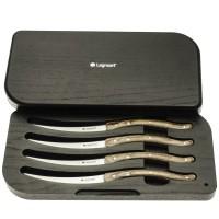 Zestaw noży do steków jasny Legnoart