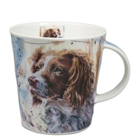Kubek Cairngorm Dogs on Canvas Springer 480ml Dunoon