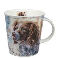 Kubek Cairngorm Dogs on Canvas Springer 480ml Dunoon