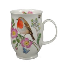 Kubek Suffolk Hedgerow Birds Robin 300ml Dunoon