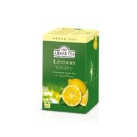 Herbata w saszetkach alu Lemon Green Tea 20szt AhmadTea
