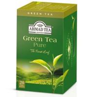 Herbata w saszetkach alu Green Tea 20szt AhmadTea