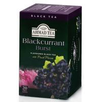 Herbata w saszetkach alu Blackcurrant 20szt AhmadTea