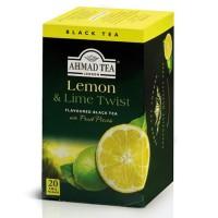 Herbata w saszetkach alu Lemon&Lime 20szt AhmadTea
