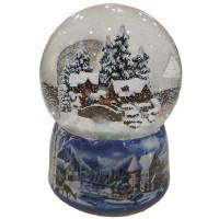 Zimowy krajobraz Kula z Pozytywką