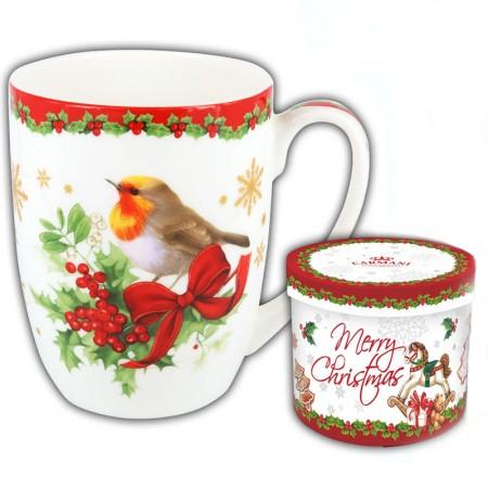 Kubek Ptaszek Świąteczny 400 ml Carmani