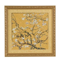Obraz Almond Tree Gold 68x68 cm Vincent van Gogh Goebel