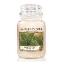 Świeca duża Yankee Candle White Tea