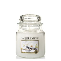 Świeca średnia Vanilla Yankee Candle