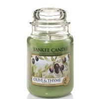 Świeca duża Yankee Candle Olive & Thyme