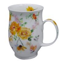 Kubek Suffolk Floral Harmony Yellow 300ml Dunoon