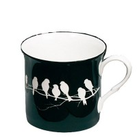 Kubek Princess Bird Silhouette Black 295ml Heath McCabe