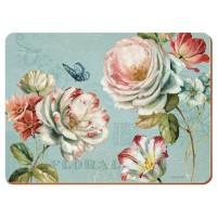 Podkładki Romantic Garden CT 29 x 21,5 cm, 6 szt