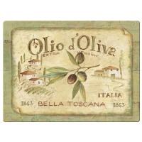 Podkładki Olio d'Oliva CT 30 x 22,5 cm, 6 szt