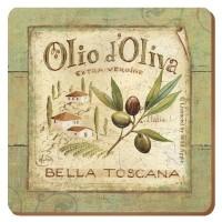 Podkładki Olio d'Oliva CT 10,5 x 10,5 cm, 6 szt