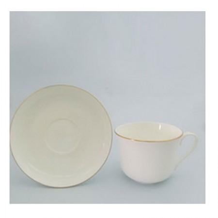 Filiżanka śniadaniowa Złoty pasek 450ml English Collection