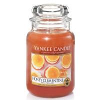 Świeca duża Honey Clementine Yankee Candle