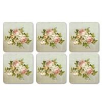 Podkładki Antique Roses 10.5x10.5 cm Pimpernel