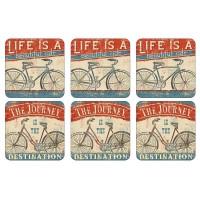 Podkładki Beautiful Ride 10.5x10.5 cm Pimpernel