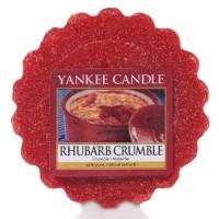 Wosk Rhubarb Crumble