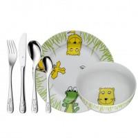 Zestaw obiadowy dla dzieci Safari 6 części WMF